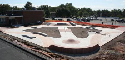 Evergreen Center Skatepark